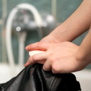 Мыло для чистки куртки