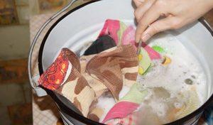 Особенности кипячения белья в домашних условиях