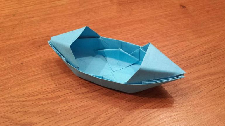 Способ сделать кораблик