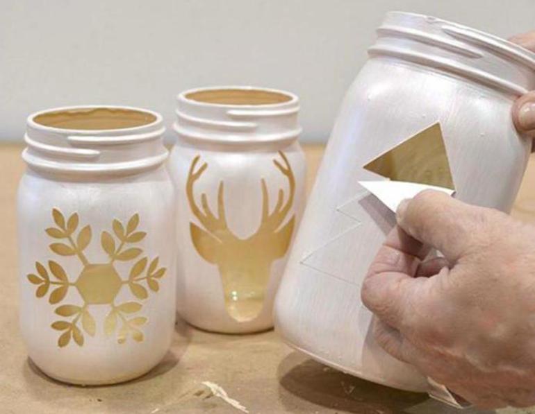Как можно украсить баночки своими руками
