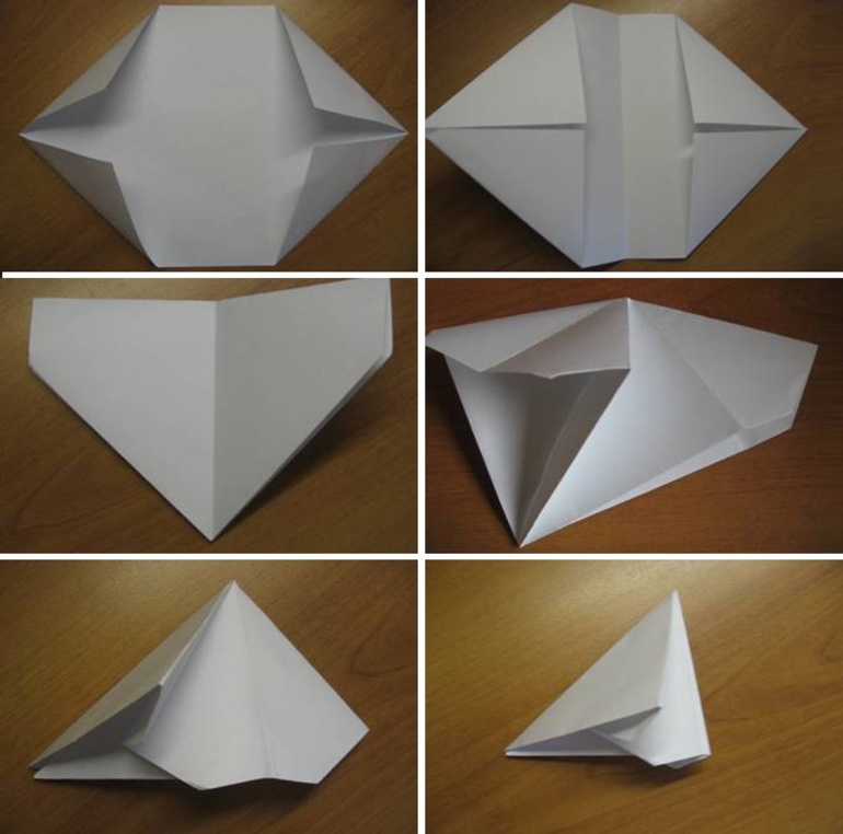 Как сделать хлопушку из листа бумаги