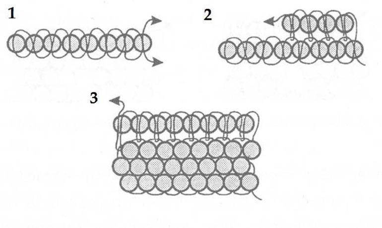 Плетение из бисера полотно картинка