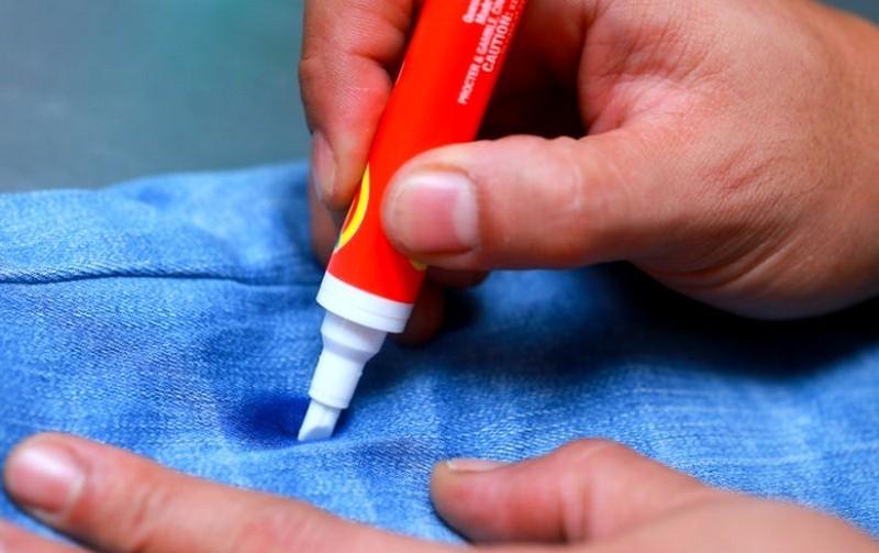 Можно вывести пятна гелевой ручки фото
