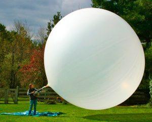 Воздушный шар своими руками