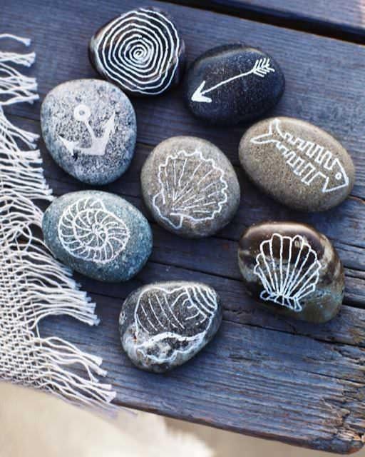 Сувениры с берега своими руками