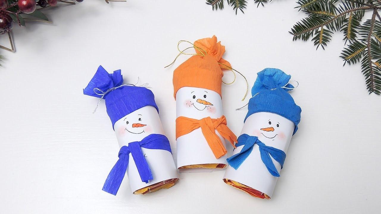 Делаем новогодние поделки из бумаги