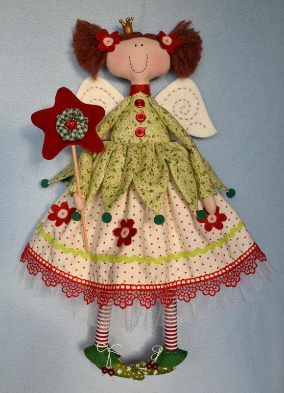 Кукла Фея: красивая игрушка, которую легко сделать своими руками