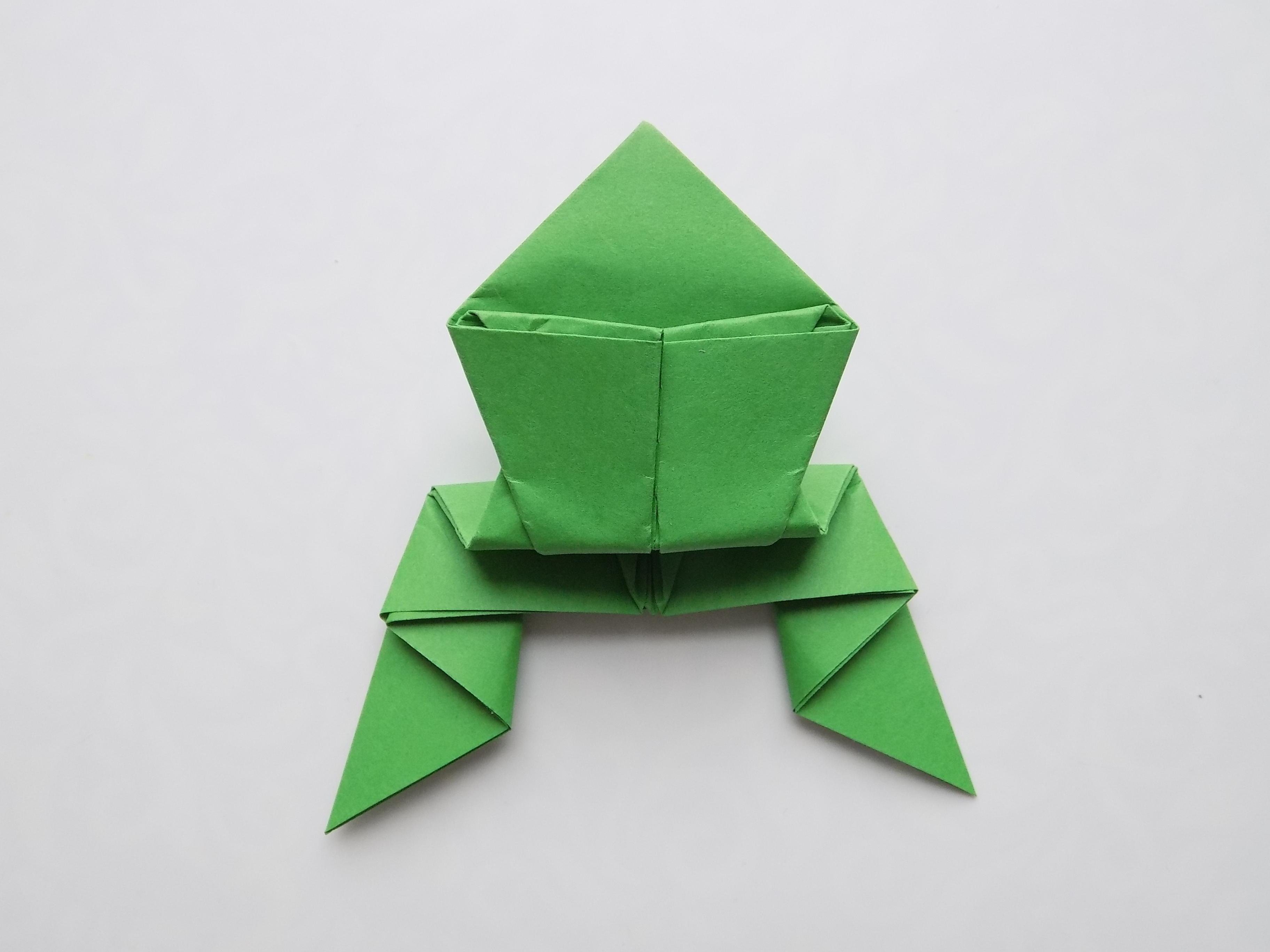 Лягушонок из бумаги картинки