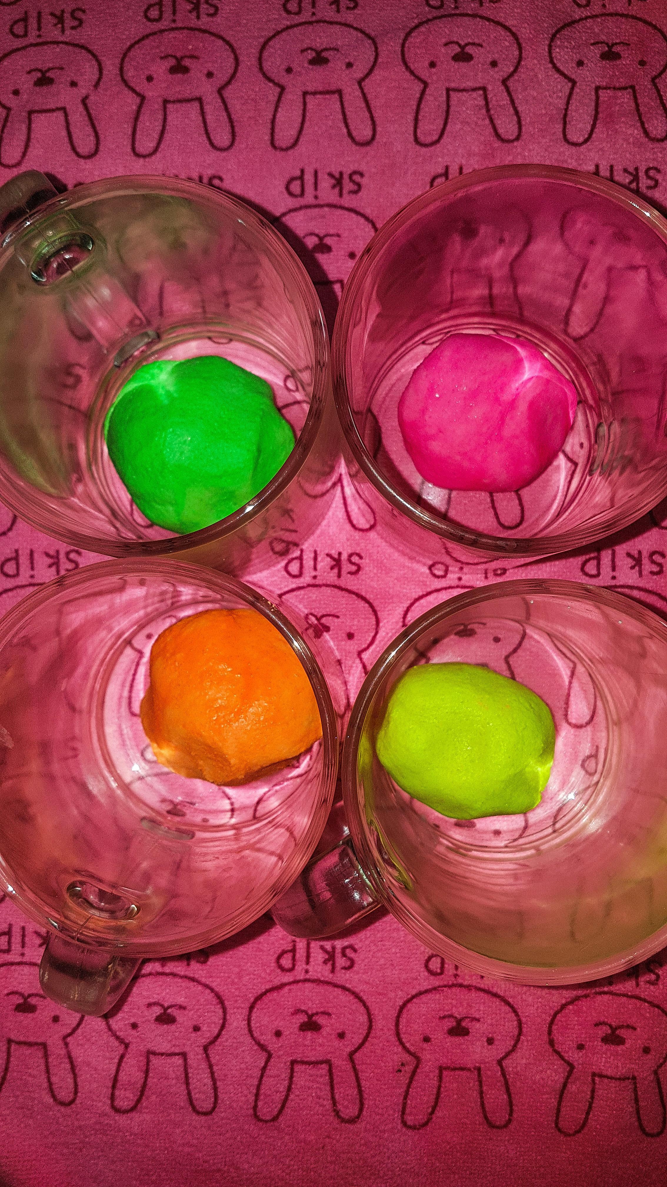 Мастер класс по изготовлению цветного теста для детской лепки