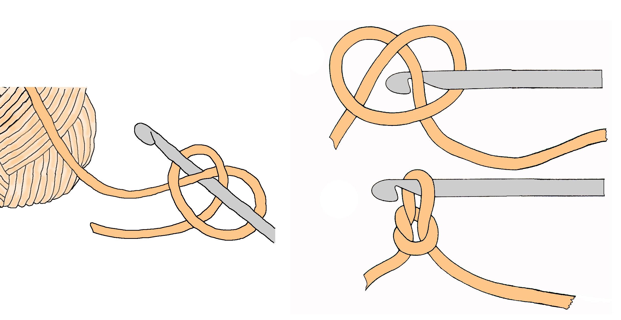 Легкий способ сделать узел скольжения крючком