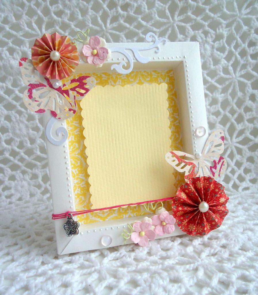 Рамка из бумаги своими руками на открытку, день доброты
