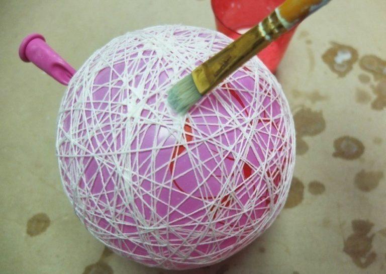 сторис поделка из воздушных шаров и ниток своими руками для