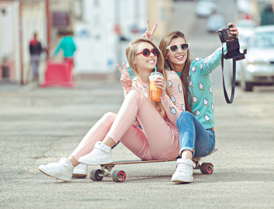 Классные картинки лучшие подруги