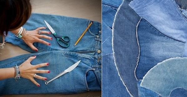 Что можно сделать из старых джинс?