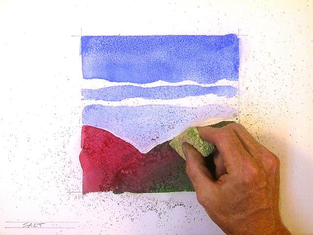 Как украсить дом при помощи акварельной краски?