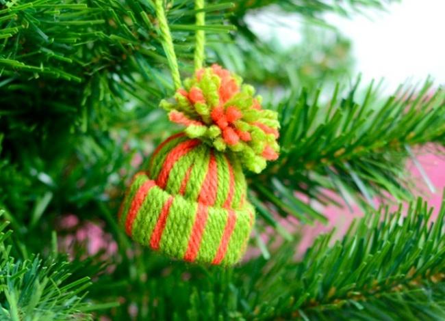 10 новогодних украшений, которые можно сделать за полчаса