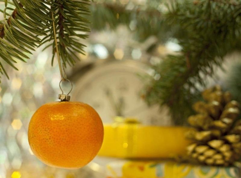 6 потрясающих идей украшения дома мандаринами