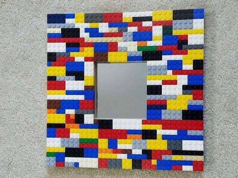 Рама зеркала из лего