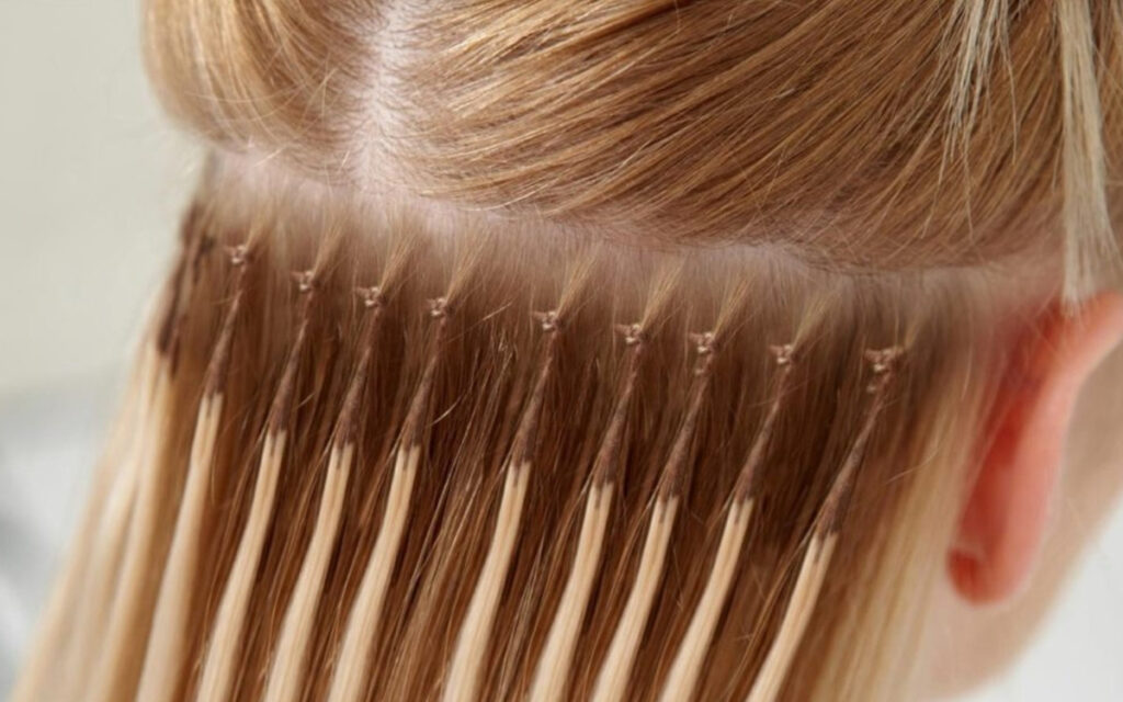 Как проходит процедура наращивания волос