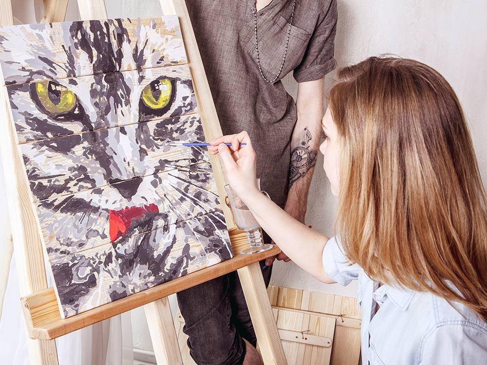 Почувствуй себя художником с картинами по номерам на art-market.kiev.ua