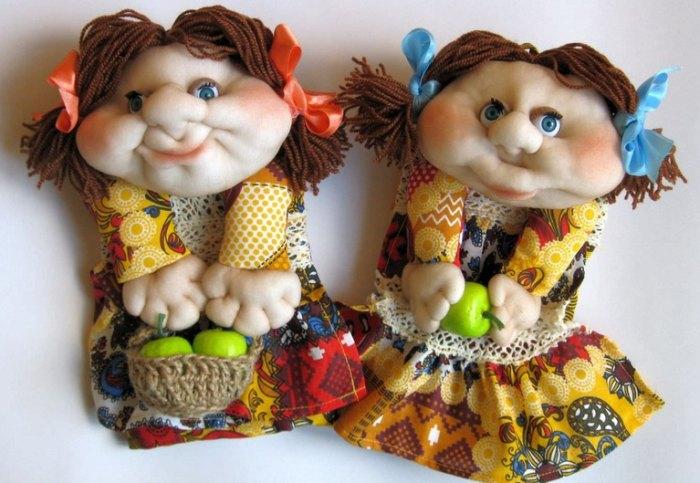 куклы из капрона своими руками