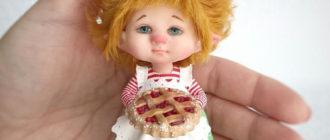 куклы из полимерной глины технология изготовления