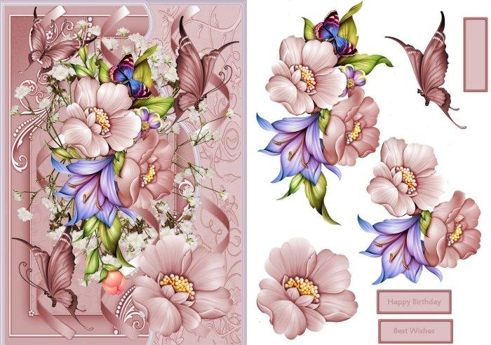 цветы для папертоль